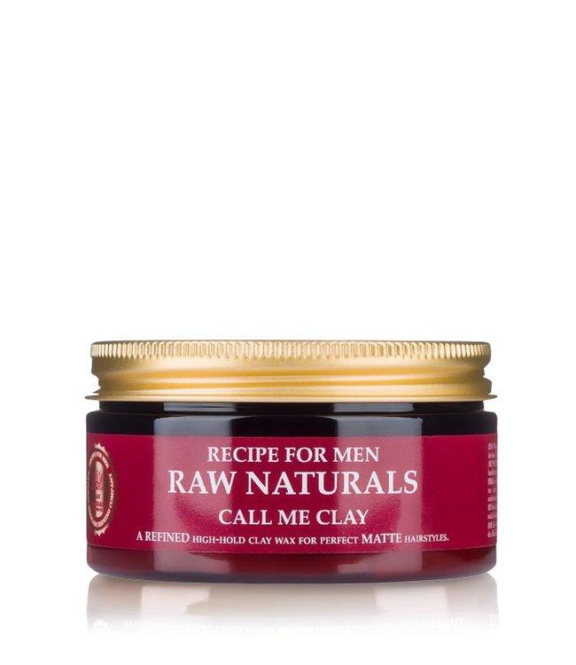 Recipe for Men RAW Naturals Call Me Clay