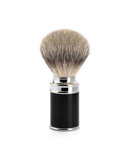 Muhle Scheerkwast - Silvertip - M - SR Zwart