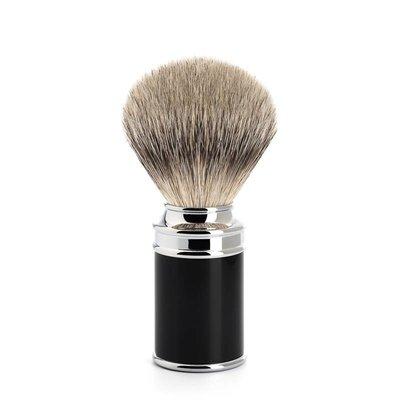 Scheerkwast - Silvertip - M - SR Zwart