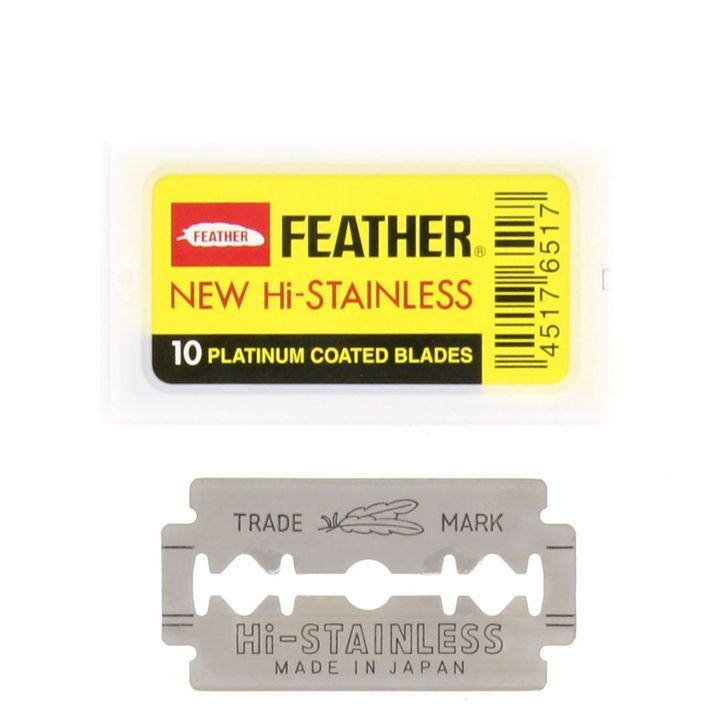 Feather Double Edge Blades scheermesjes