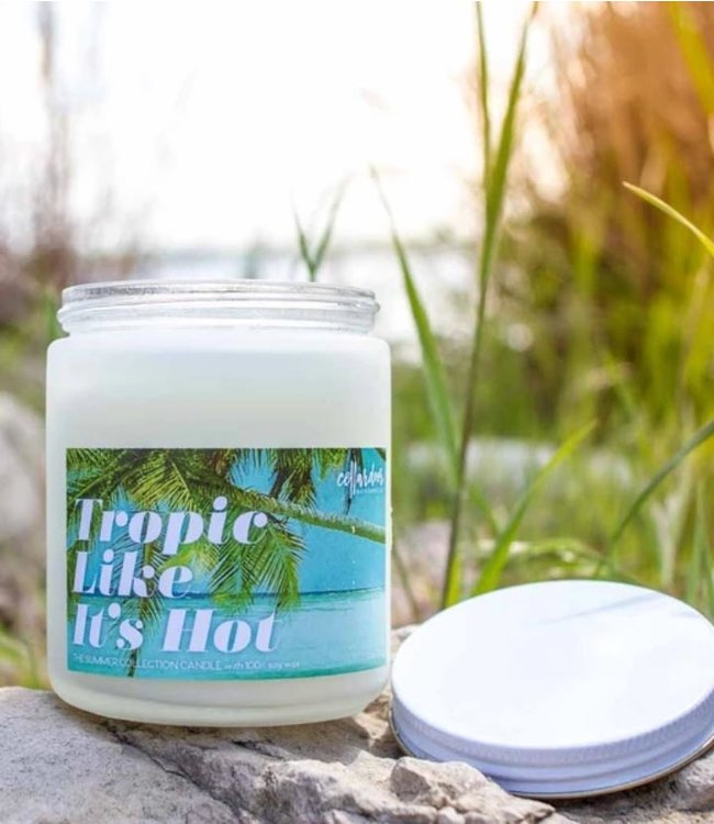 Cellar Door Tropic Like It's Hot Soy Candle