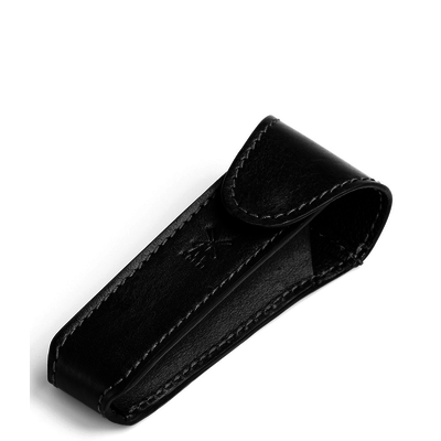 Etui Safety Razor - Zwart Leder