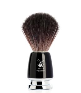 Muhle Scheerkwast - Black Fibre - M - Rytmo - Zwart