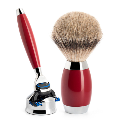Set Gillette Fusion - Edition Chinese Lak 'Urushi' - Silvertip - Chineese Lak (3-delig)
