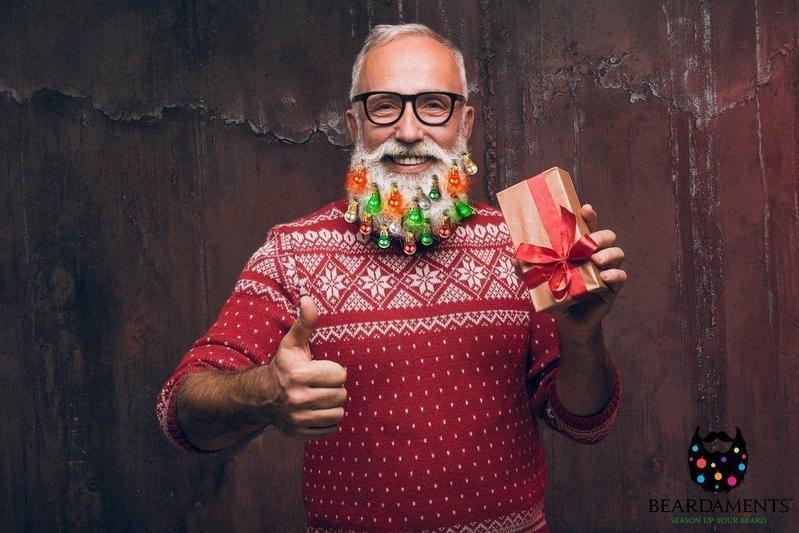 koop hier kerstballen voor de baard