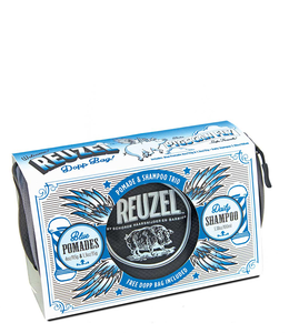 Reuzel Pigs Can Fly Dopp Bag - Blue Pomade