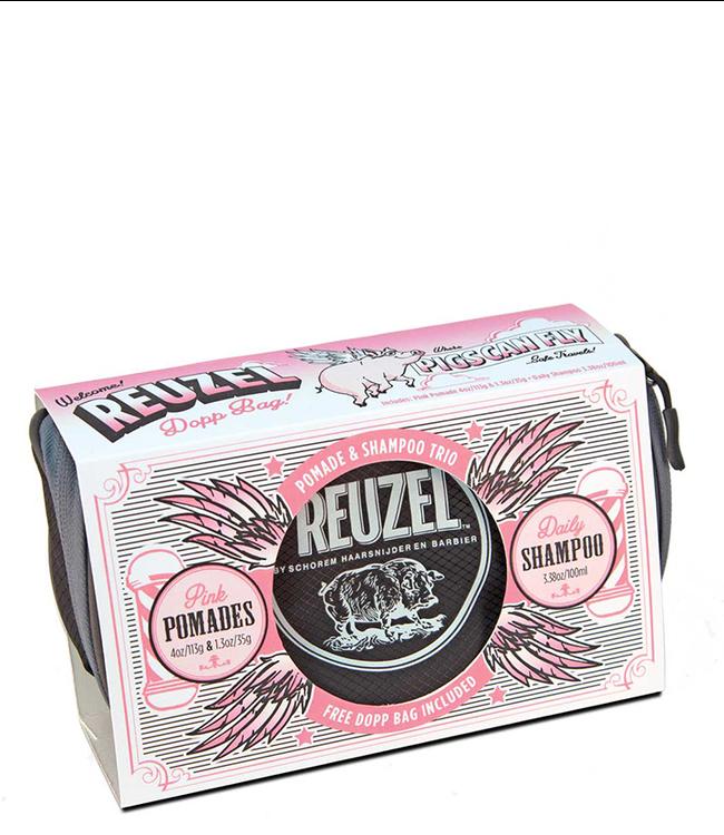 Reuzel Pigs Can Fly Dopp Bag - Pink Pomade