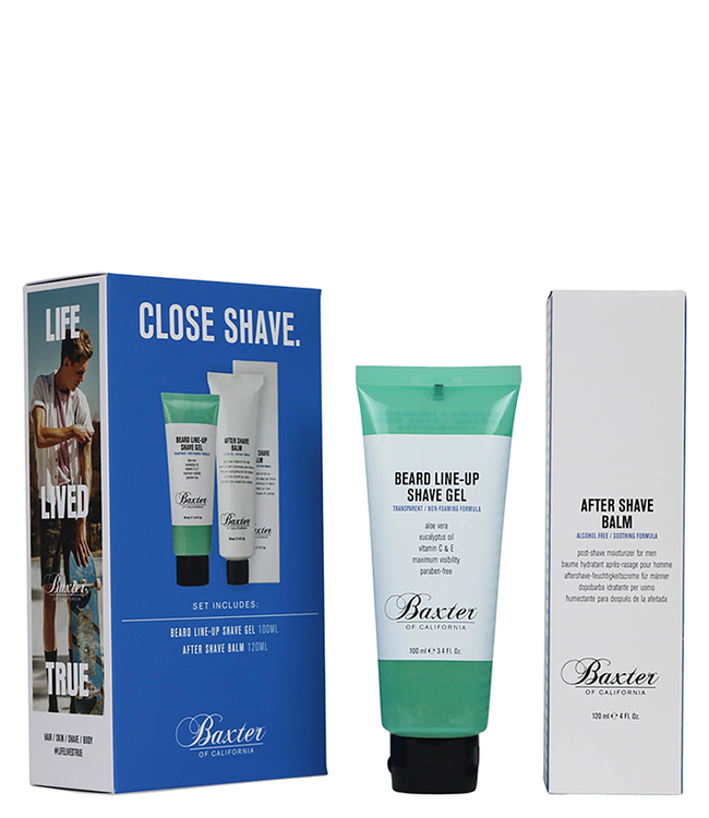 Baxter of California Close Shave Grooming Kit