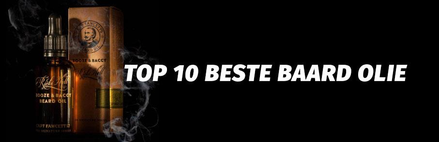top 10 beste baard olie