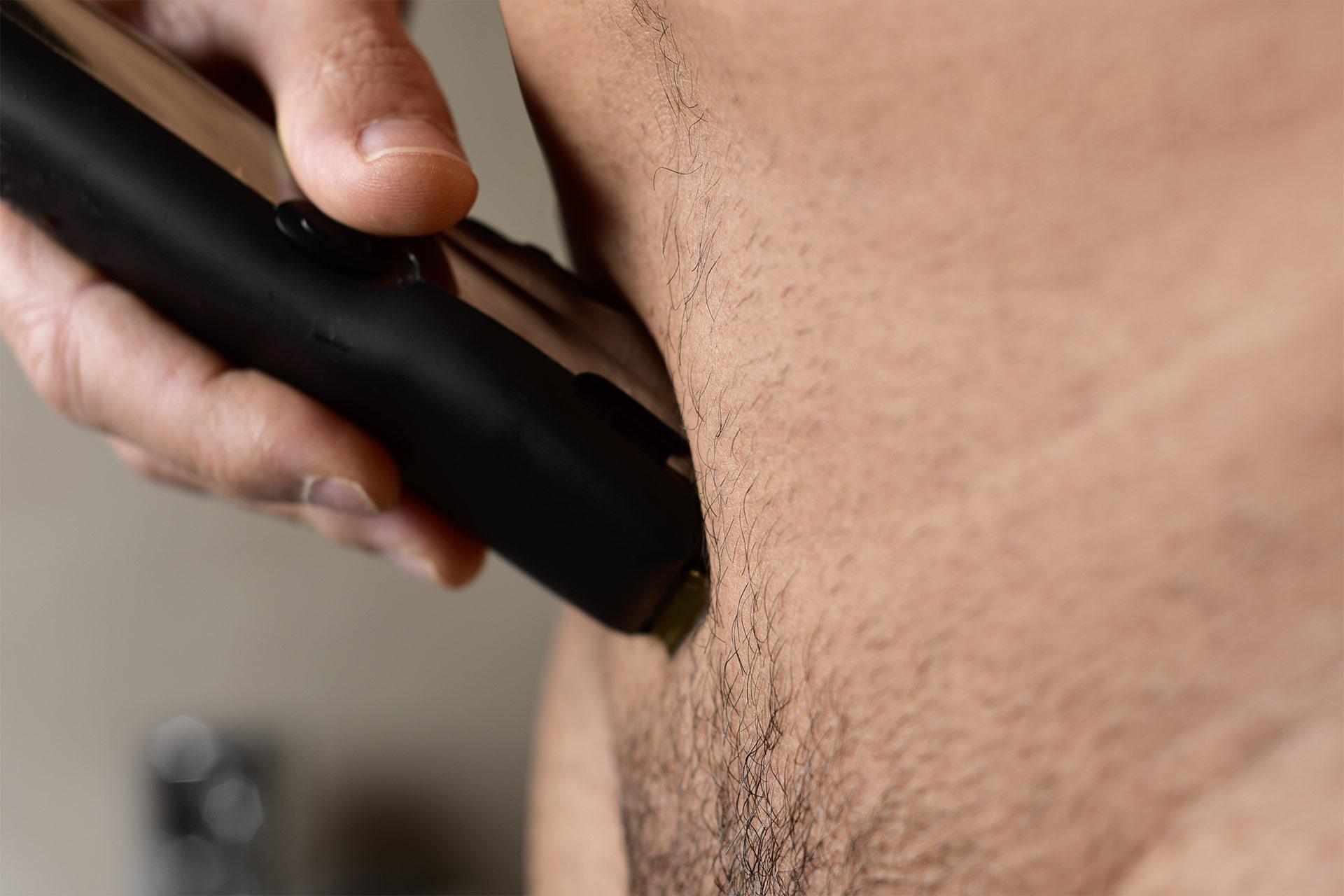 schaamhaar knippen of trimmen