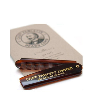 Captain Fawcett Folding Pocket Baardkam