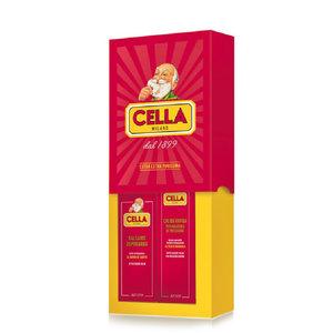 Cella Milano Scheerset - Scheercrème + Aftershave Balsem
