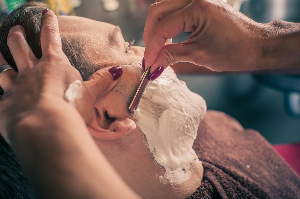scheerzeep gevoelige huid
