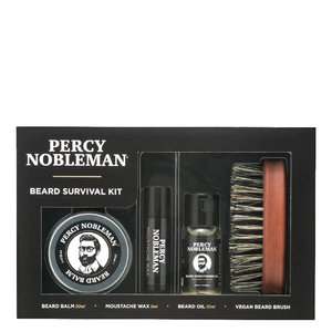Percy Nobleman Beard Survival Kit