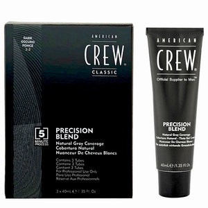 American Crew Precision Blend - Haarverf - 3 x 40 ml