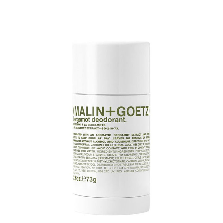 MALIN + GOETZ  Bergamot Deodorant Stick