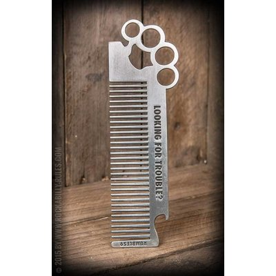 Comb Brass Knuckles