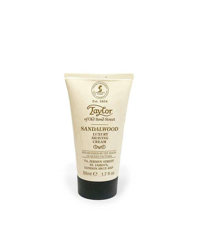 Taylor of Old Bond Street Scheercreme Tube Sandalwood 50ml