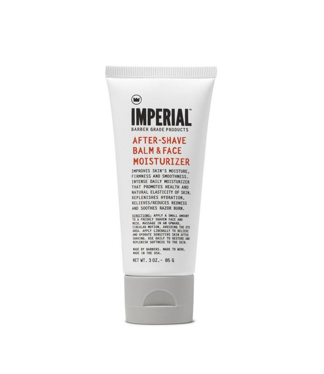 Imperial Barber Products Face Moisturizer & Aftershave Balm