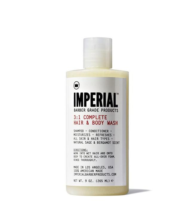 Imperial Barber Products 3:1 Complete Hair & Body Wash