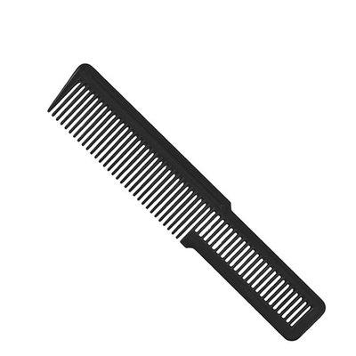 Flat Top Clipper Comb Black Small
