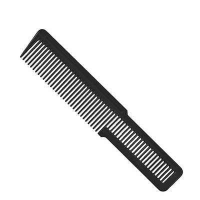 Flat Top Clipper Comb Black Large