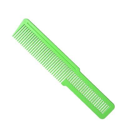 Flat Top Clipper Comb Green Large