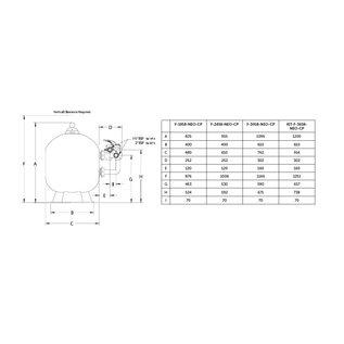 Pentair Filter Triton NEO (Clearpro )