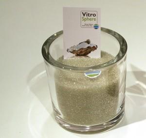 Filtermedium Glasparels