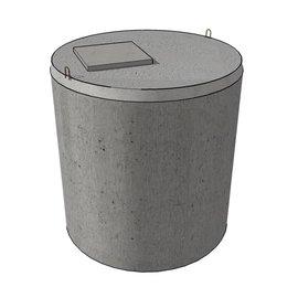 Huismerk Verstevigde betonnen kopplaat (5000L)
