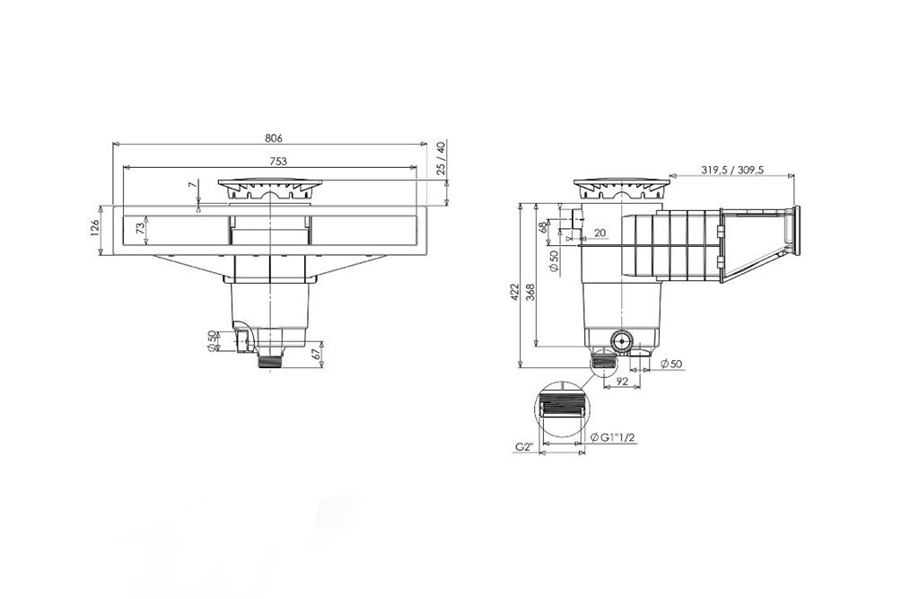 Weltico Skimmer A800