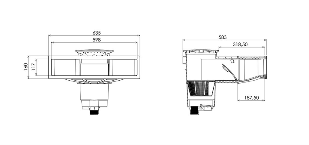 Weltico Skimmer A600
