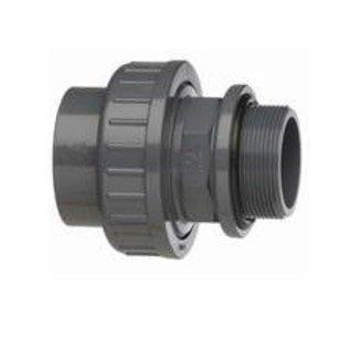 VDL Zwembadkoppeling met rubberdichting 50mm