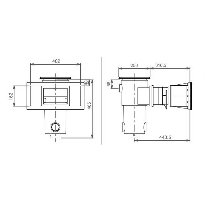 Aquareva Skimmer (liner)