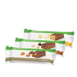 Herbalife proteïnereep Chocolade-Pinda - doos van14 repen 35 gr per reep