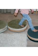 Bisou de Lou | Round Cushion