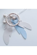 Bisou de Lou Dream catcher Baby Blue | White