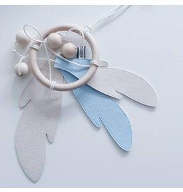 Bisou de Lou Dream catcher Baby Blue | White