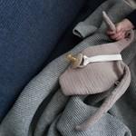Bisou de Lou Cuddly Rabbit Cloth
