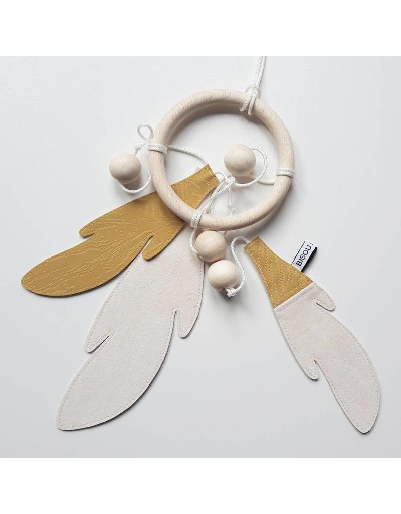 Bisou de Lou Dream catcher Yellow | White