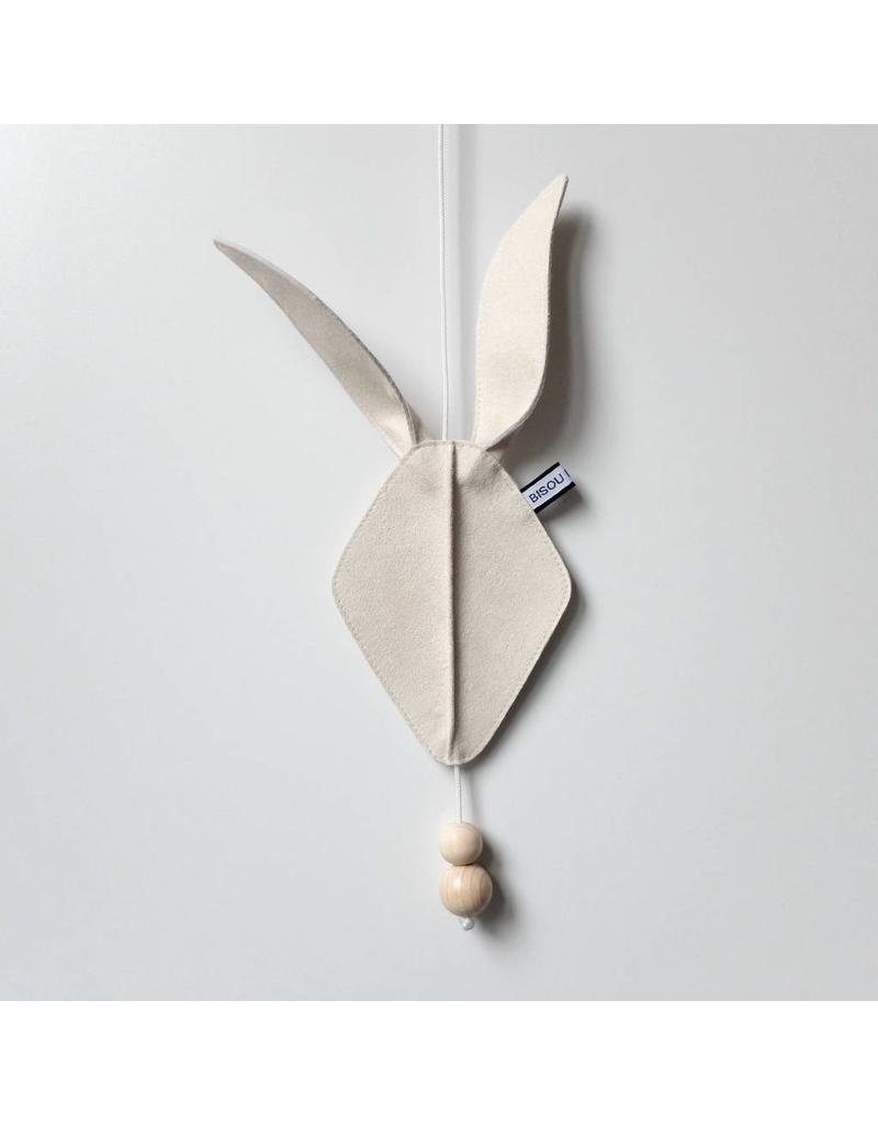 Bisou de Lou Door | Wall Rabbithead