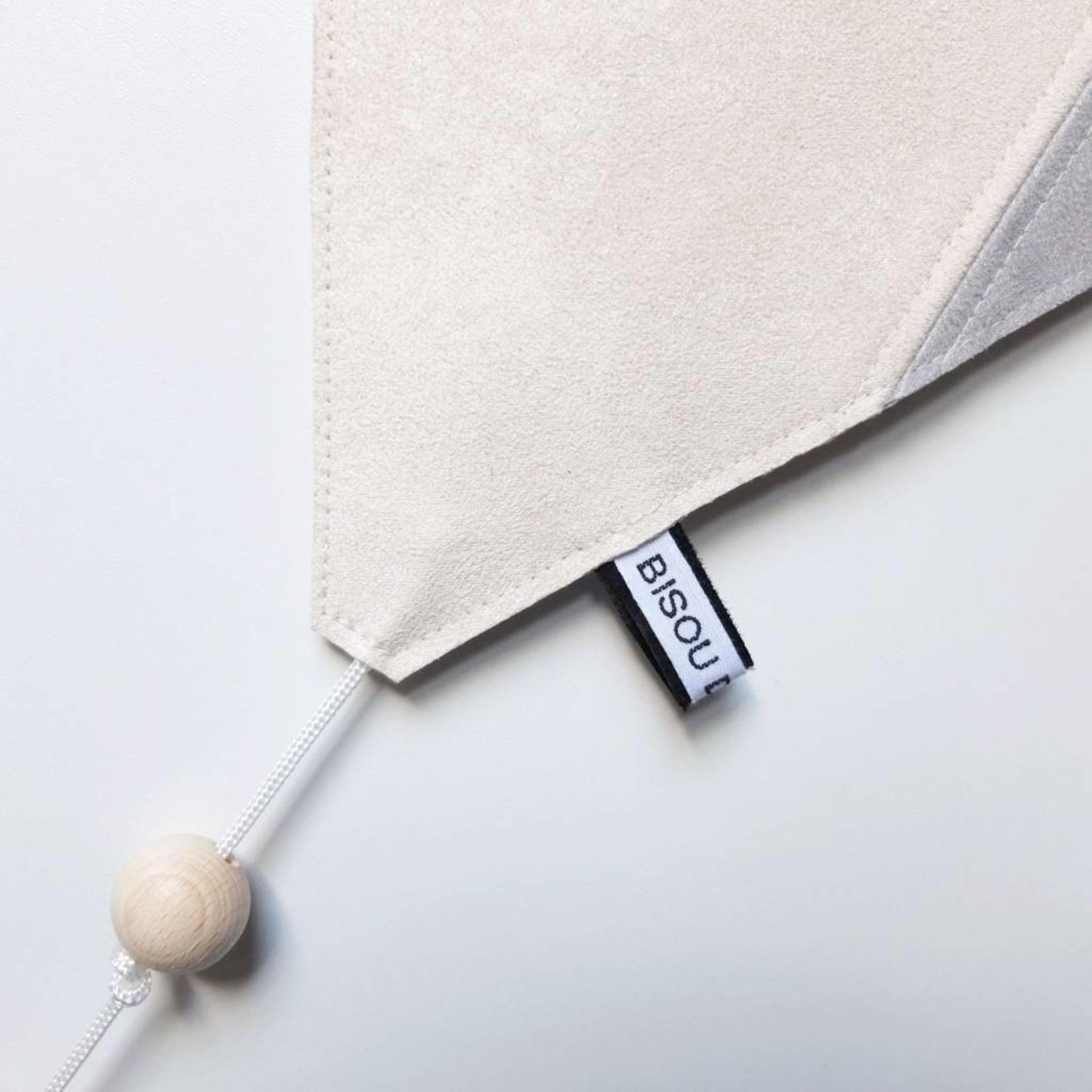 Bisou de Lou Kite   Hanger Grijs en wit