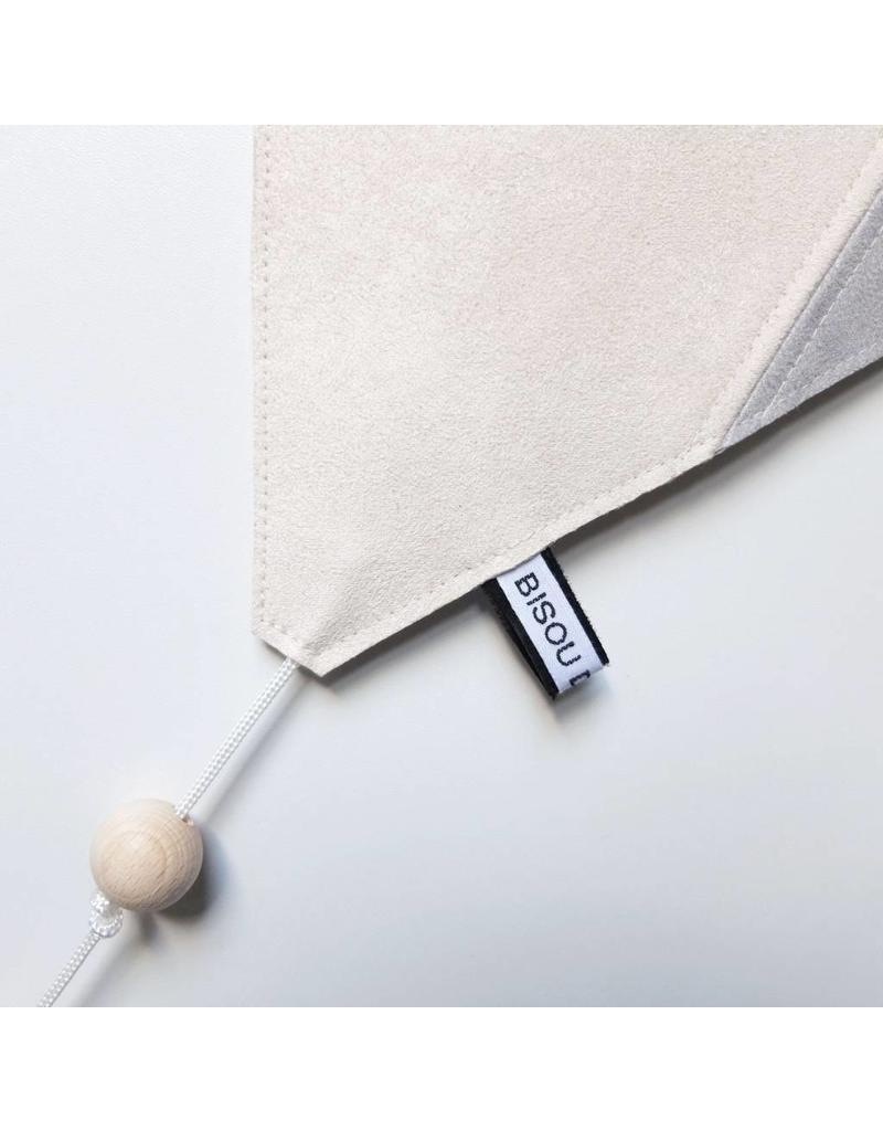 Bisou de Lou Kite | Hanger Grijs en wit