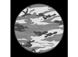 Slipmats with Camouflage print, by Glowtronics, set of 2