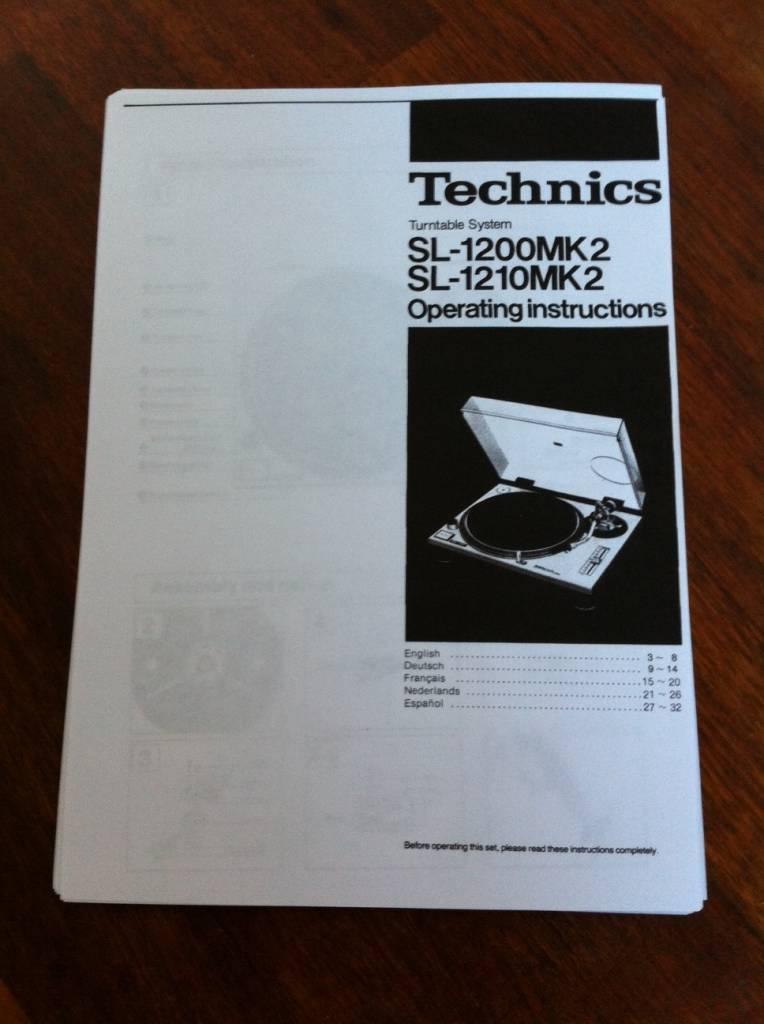 Technics SL 1200 MK2 customised turntable