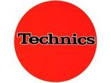 Technics Logo Black On Orange Slipmats