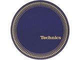 Technics Strobo Blue/Gold slipmatten