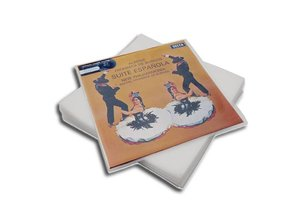 """LP / 12"""" protective sleeves made from polyethylene (PE)"""