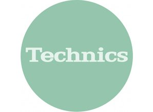 Technics Logo Turquoise by Slipmat Factory