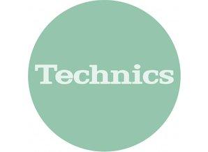 Technics Logo Turquoise slipmatten van Slipmat Factory